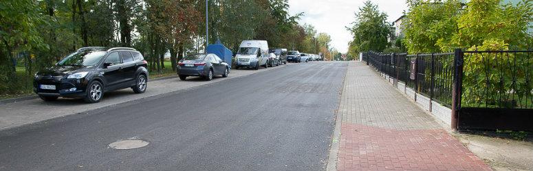 Ulica Władysława Jagiełły gotowa