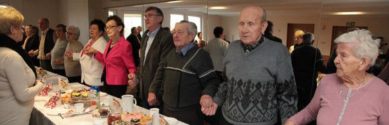 Spotkanie opłatkowe emerytów