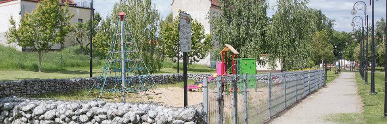 Place zabaw otwarte - po dezynfekcji